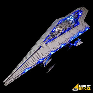 Star Wars UCS Super Star Destroyer #10221 LEGO Lights