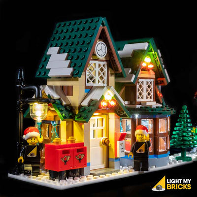 ONLY instructions Lego 10222 Creator Winter Village Post Office no bricks//parts