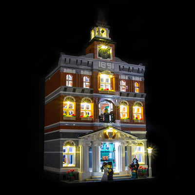 LEGO Town Hall #10224 Light Kit