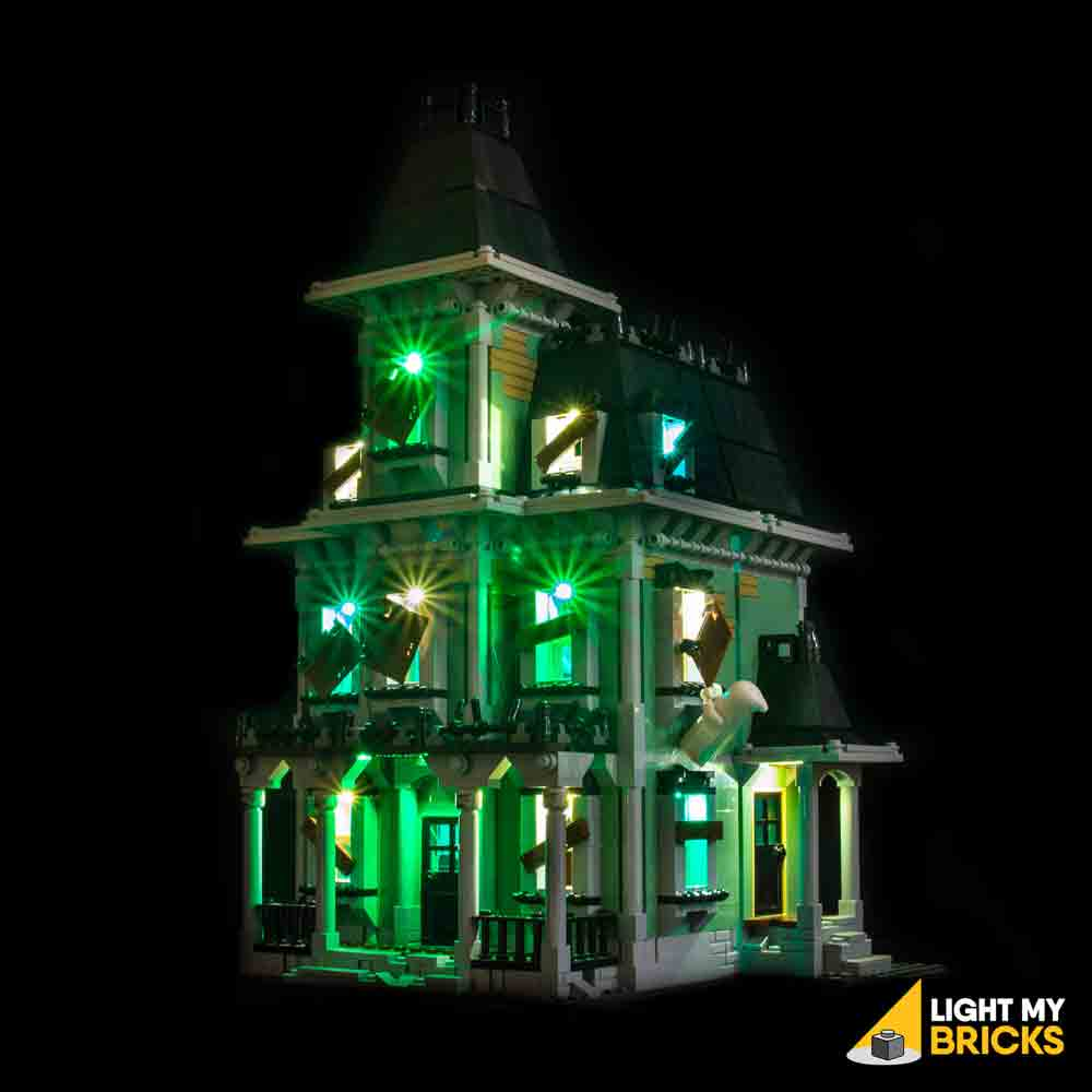 LEGO LED Light Kit for 10228 Haunted House Front