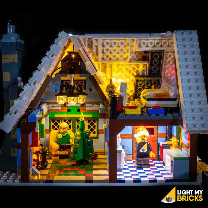 LEGO LED Light Kit for 10229 Winter Village Cottage Inside