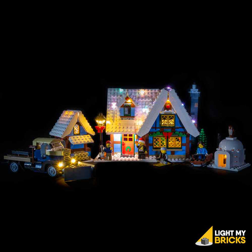 LEGO LED Light Kit for 10229 Winter Village Cottage Straight