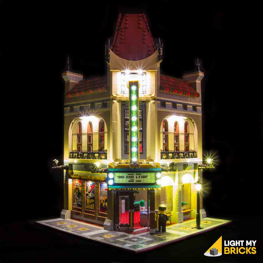 LEGO LED Light Kit for 10232 Palace Cinema Front