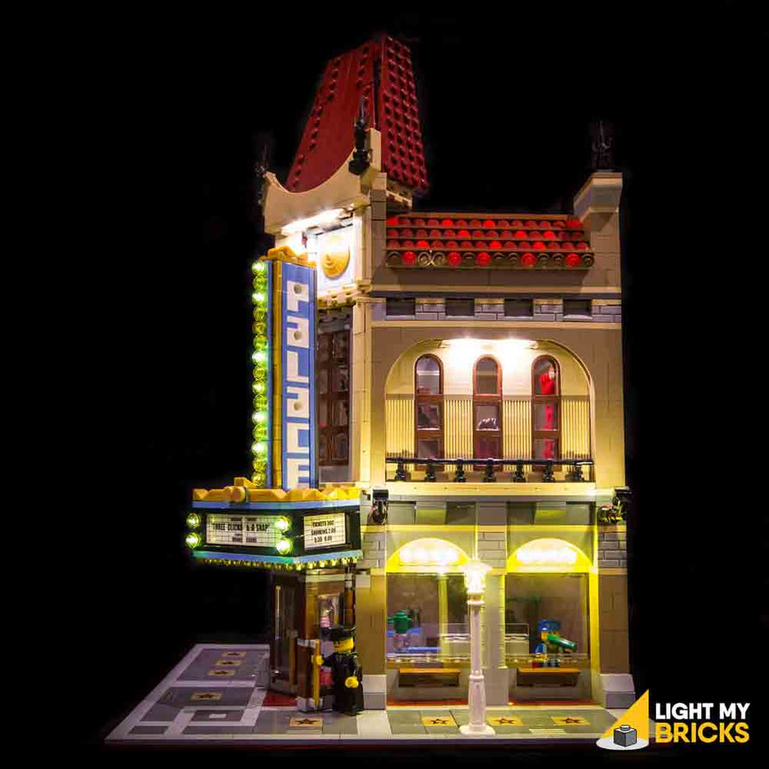 LEGO LED Light Kit for 10232 Palace Cinema Side
