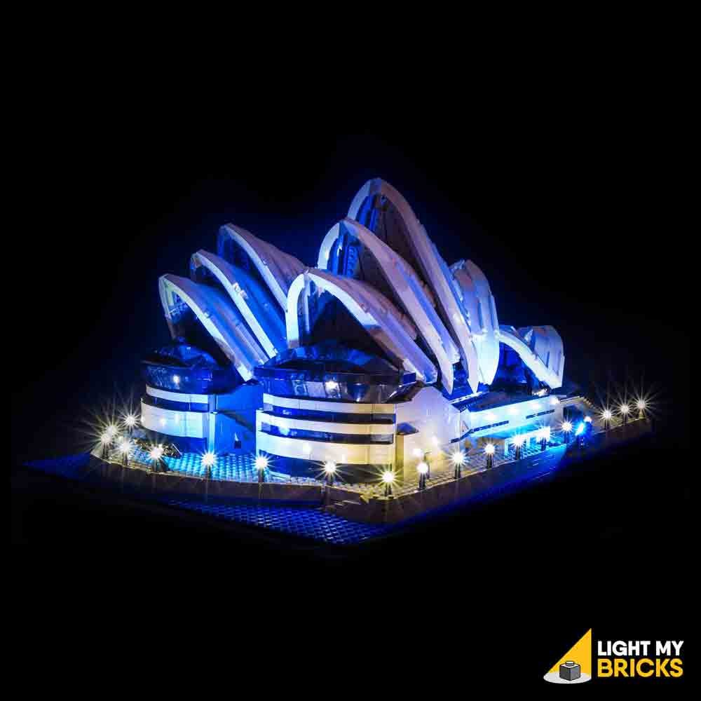 LEGO LED Light Kit for 10234 Sydney Opera House Front