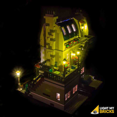 LEGO LED Light Kit for 10243 Parisian Restaurant Side