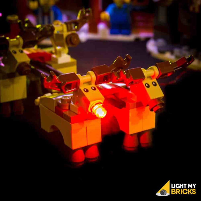 LEGO LED Light Kit for 10245 Santa's Workshop Reindeer