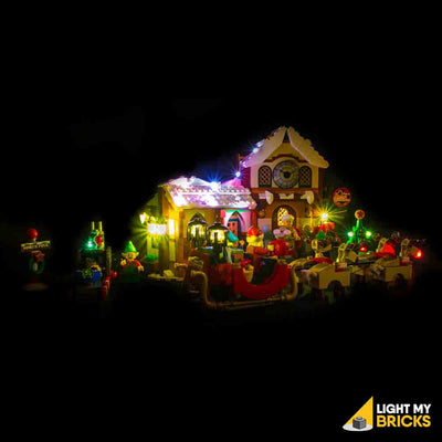 LEGO LED Light Kit for 10245 Santa's Workshop Front