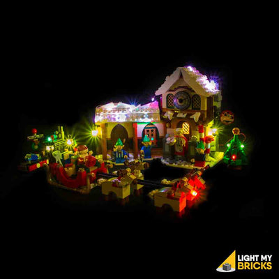LEGO LED Light Kit for 10245 Santa's Workshop Front 2
