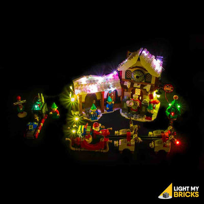 LEGO LED Light Kit for 10245 Santa's Workshop Front 3