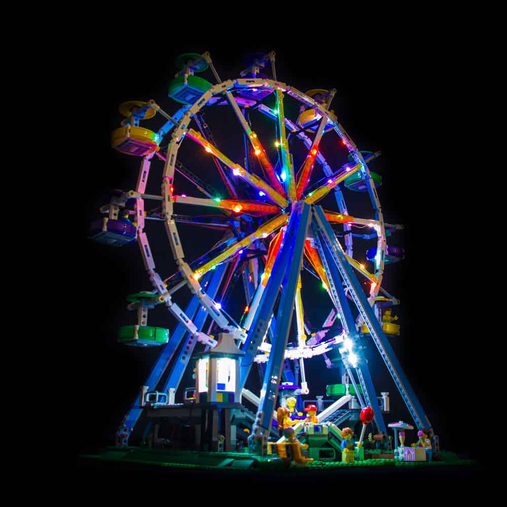 LEGO Ferris Wheel #10247 Light Kit