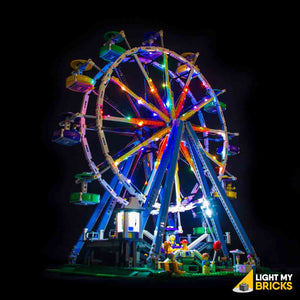 LEGO LED Light Kit for 10247 Ferris Wheel Front