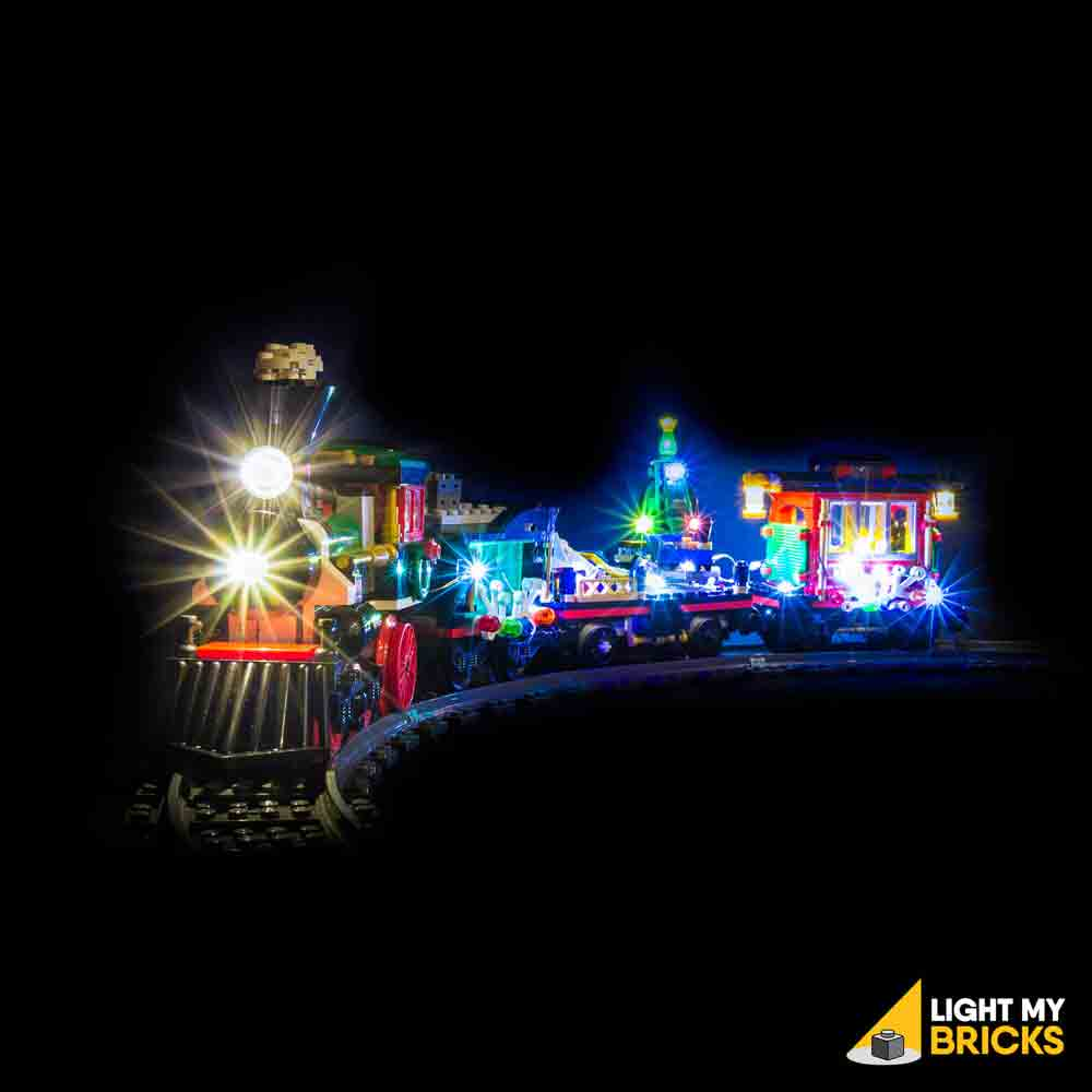 LEGO LED Light Kit for 10254 Winter Holiday Train Front