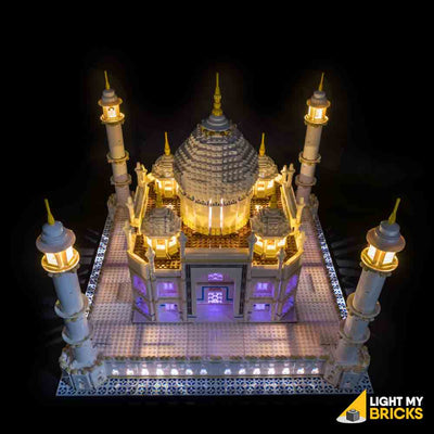 LEGO LED Light Kit for 10256 Taj Mahal Top Purple