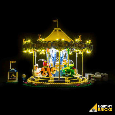 LEGO LED Light Kit for 10257 Carousel Front 3