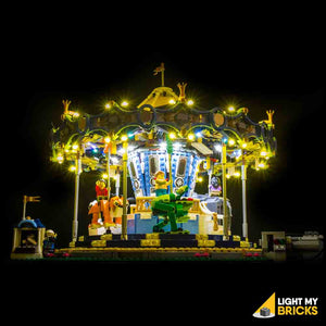 LEGO LED Light Kit for 10257 Carousel Front 2