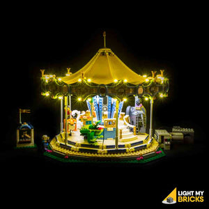 LEGO LED Light Kit for 10257 Carousel Front 1