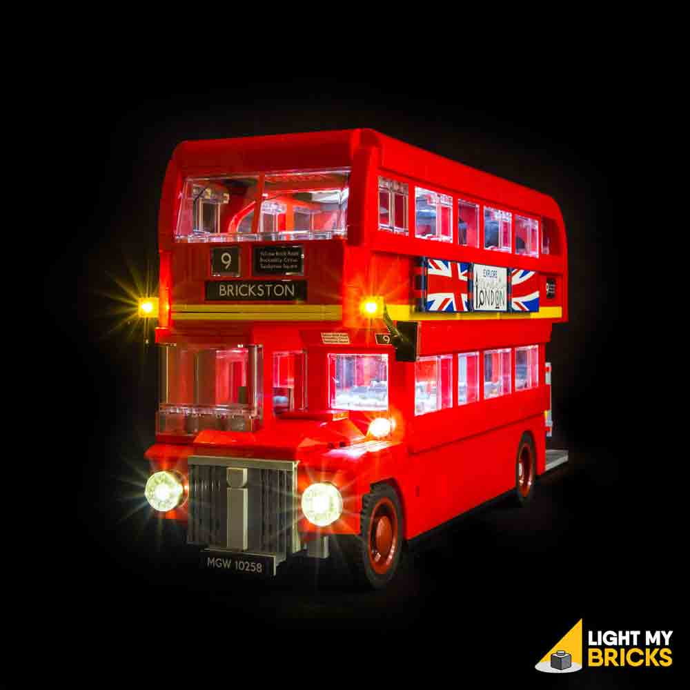 LEGO LED Light Kit for 10258 London Bus Front