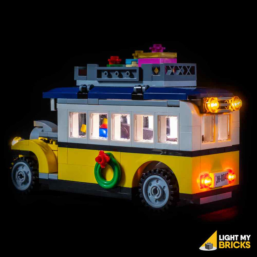 LEGO LED Light Kit for 10259 Winter Village Station Bus Rear