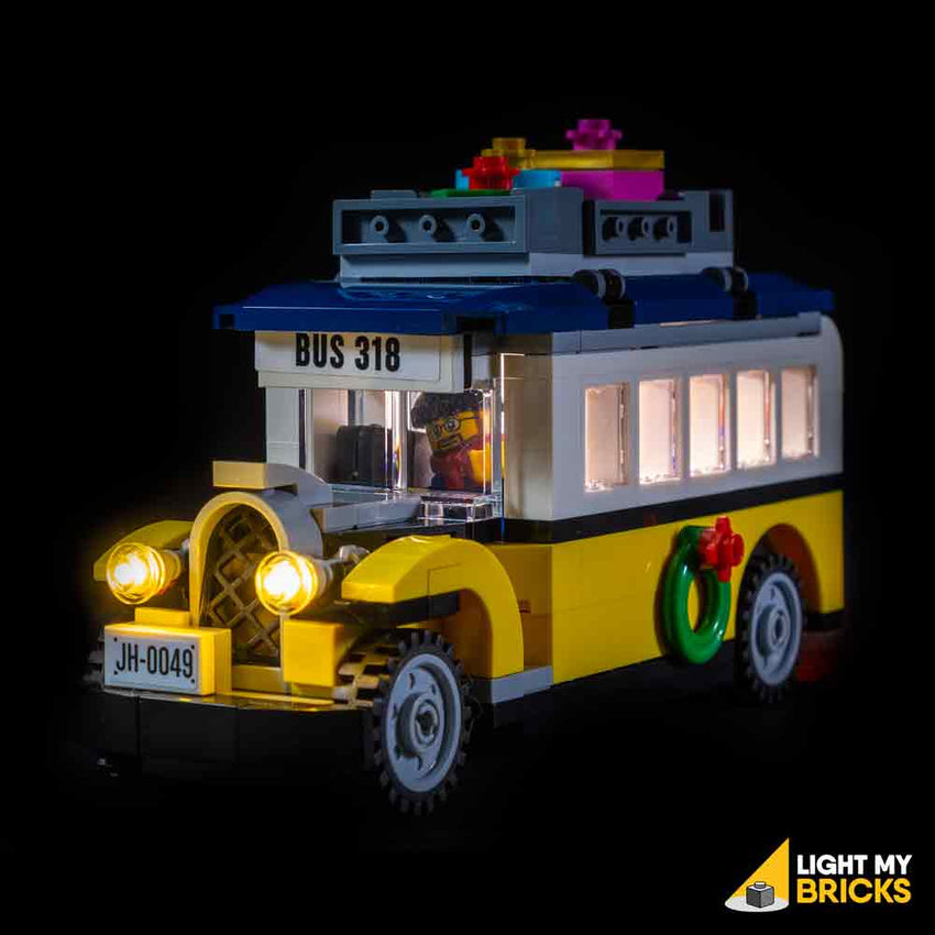 LEGO LED Light Kit for 10259 Winter Village Station Bus Front