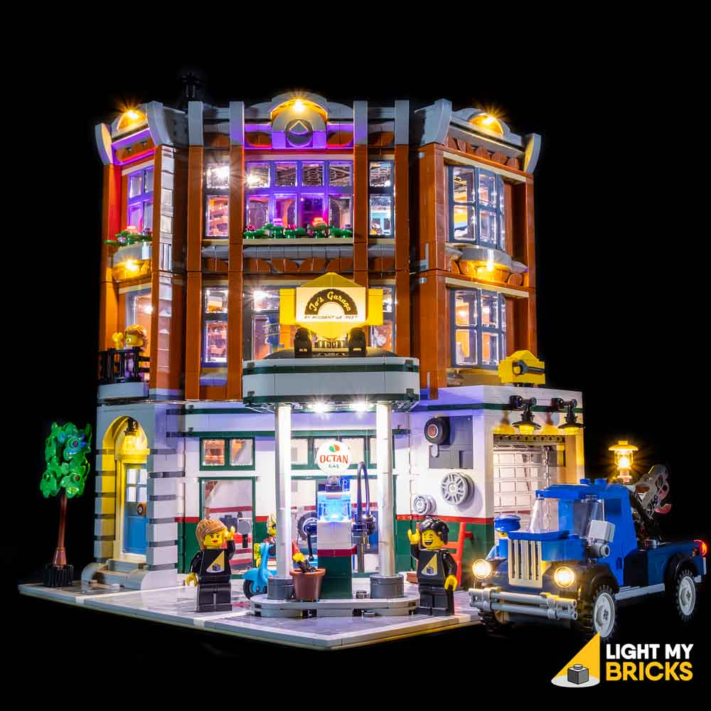 LEGO LED Light Kit for 10264 Corner Garage Front