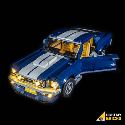 LEGO LED Light Kit for 10265 Ford Mustang GT Car Door Open