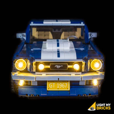 LEGO LED Light Kit for 10265 Ford Mustang GT Front