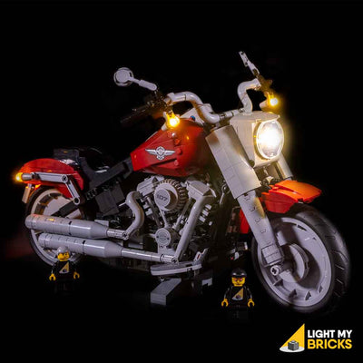 LEGO Harley Davidson Fatboy #10269 Light Kit
