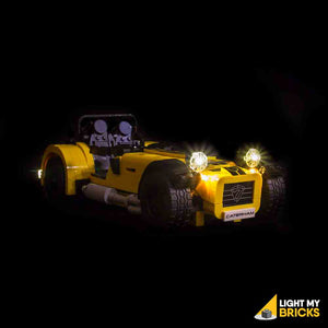 LEGO LED Light Kit for 21037 Caterham Seven 620R Front
