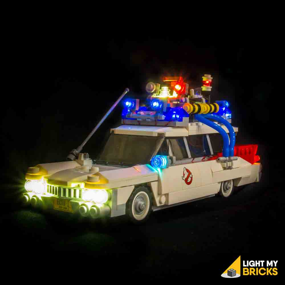 LEGO LED Light Kit for 21108 Ghostbusters Ecto-1 Front