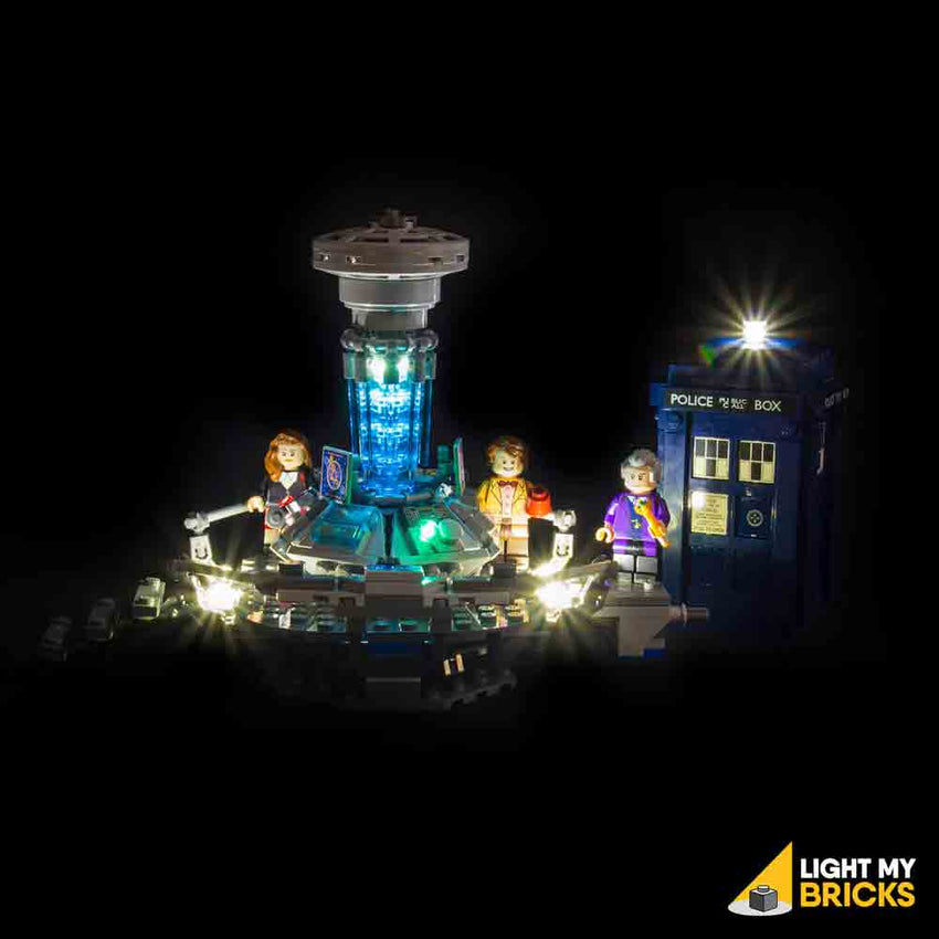 LEGO LED Light Kit for 21034 Dr Who Straight