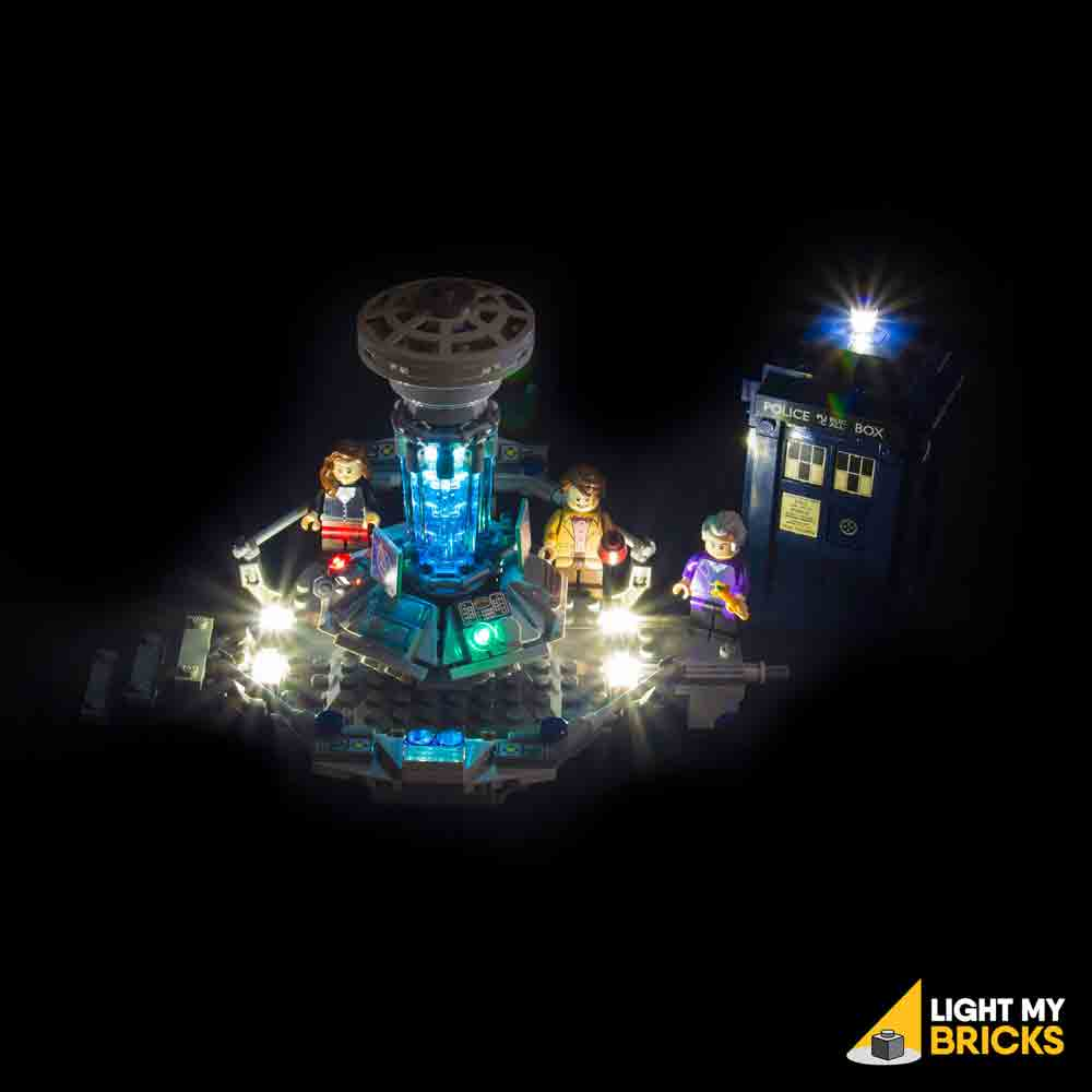 LEGO LED Light Kit for 21034 Dr Who Front