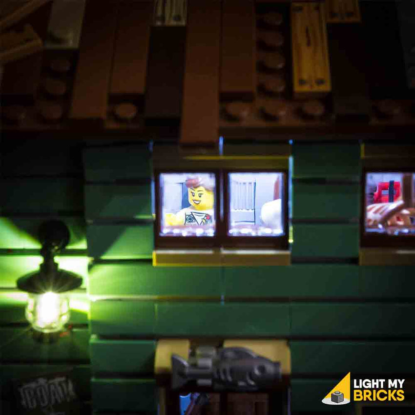 LEGO LED Light Kit for 21030 Old Fishing Store Window