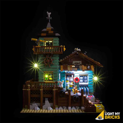 LEGO LED Light Kit for 21030 Old Fishing Store Straight