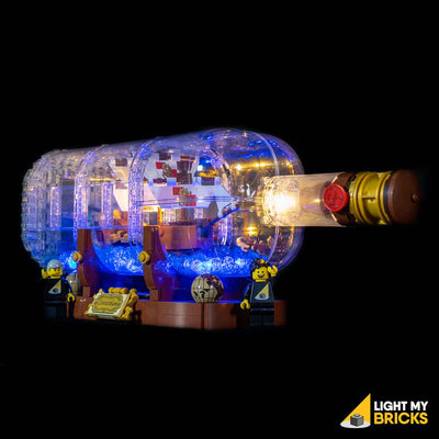 LEGO LED Light Kit for 21313 Ship In A Bottle Front