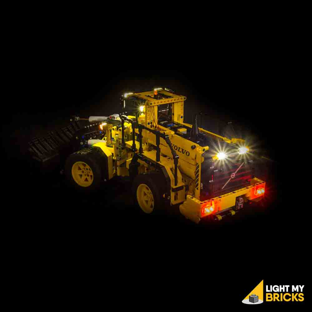 Verwonderend Volvo L350F Wheel Loader #42030 LEGO® Light Kit | Light My Bricks LD-31