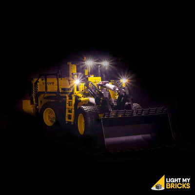 LEGO LED Light Kit for 42030 Volvo L350F Wheel Loader Front