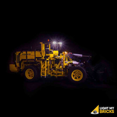 LEGO LED Light Kit for 42030 Volvo L350F Wheel Loader Side