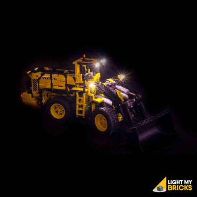 LEGO LED Light Kit for 42030 Volvo L350F Wheel Loader Side 2
