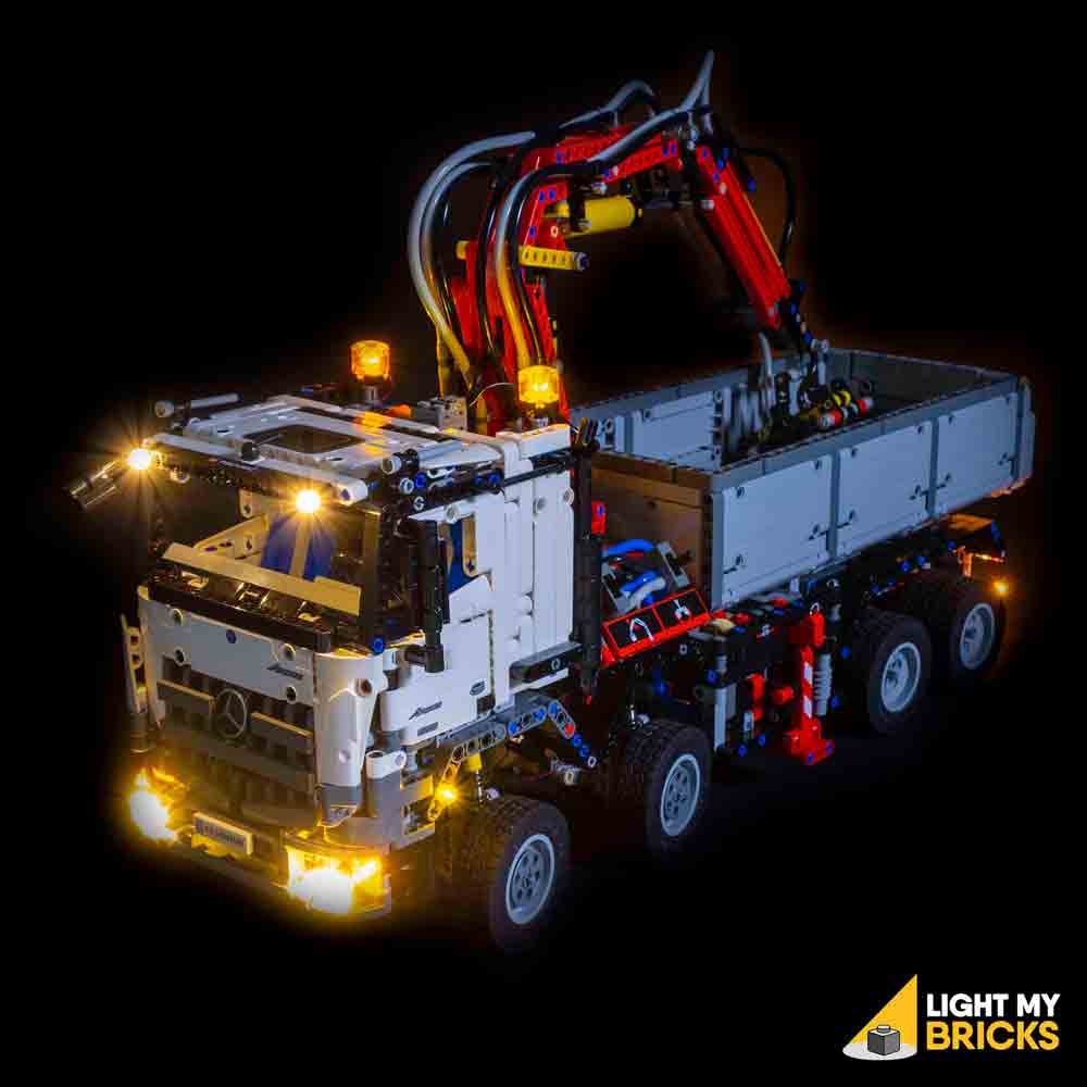 LEGO LED Light Kit for 42043 Mercedes-Benz Arocs Top