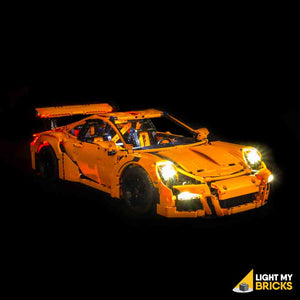 LEGO LED Light Kit for 42056 Porsche 911 GT3 RS Front