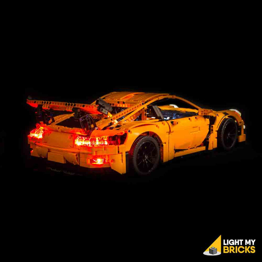 porsche 911 gt3 rs 42056 lego light kit light my bricks. Black Bedroom Furniture Sets. Home Design Ideas