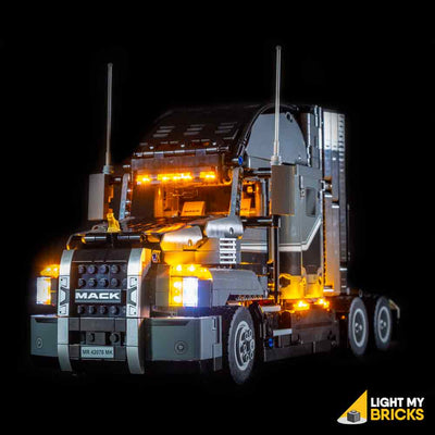 Led Lights For Semi Trucks >> Lego Mack Anthem 42078 Light Kit