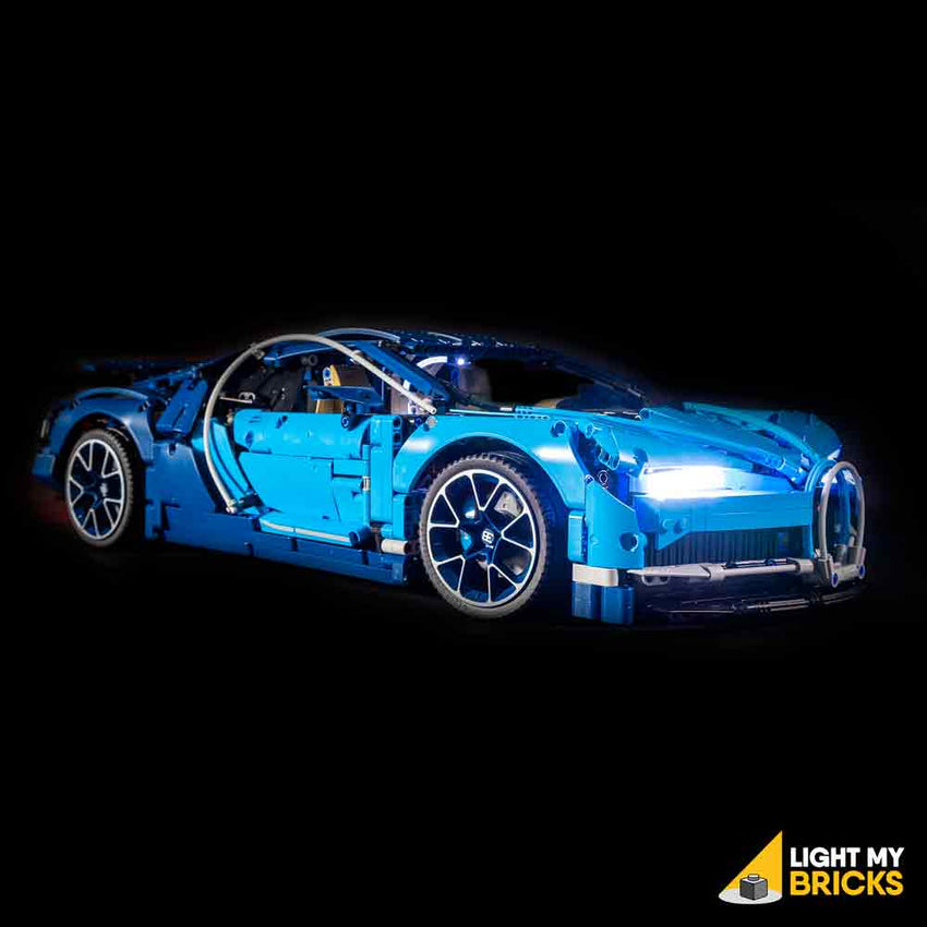 bugatti chiron 42083 lego light kit light my bricks. Black Bedroom Furniture Sets. Home Design Ideas