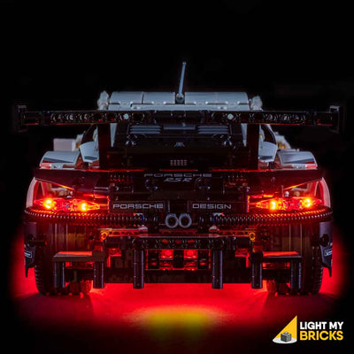 LEGO LED Light Kit for 42096 Porsche 911 RSR Rear