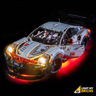 LEGO LED Light Kit for 42096 Porsche 911 RSR Door Open