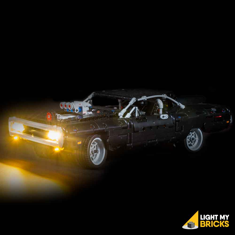LEGO Dom's Dodge Charger #42111 Light Kit
