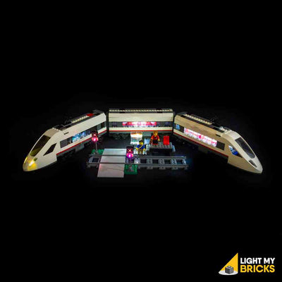 LEGO LED Light Kit for 60051 High-speed Passenger Train and Platform