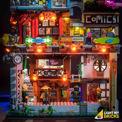 LEGO LED Light Kit for 70620 Ninjago City Mid Levels