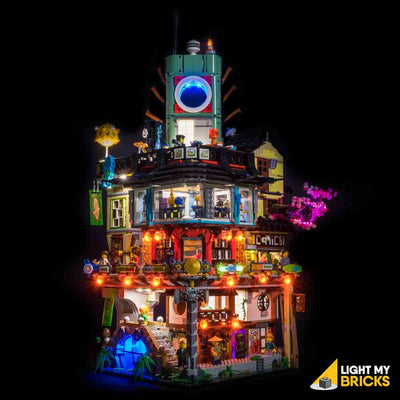 LEGO LED Light Kit for 70620 Ninjago City Front